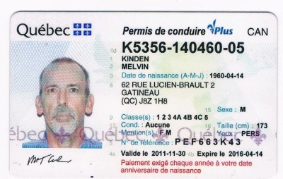 Licence Driver Quebec Driver Licence