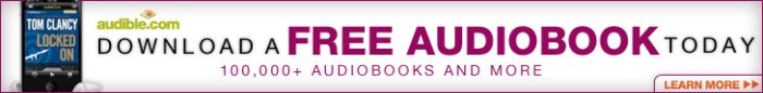 *Get an audiobook of your choice, free, with a 30-day trial.