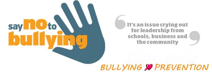 Preventing bullying as the school year starts (8/20/13)