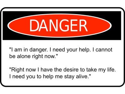 DANGER-suicide