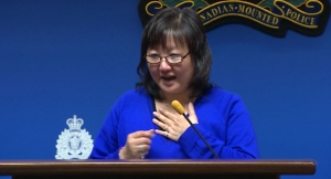 'This is truly a day we've been waiting for'  Amanda's mother, fights back tears at a news conference and expresses her wish that her daughter's story will help increase pressure on child predators worldwide. (CBC) - Carol Todd
