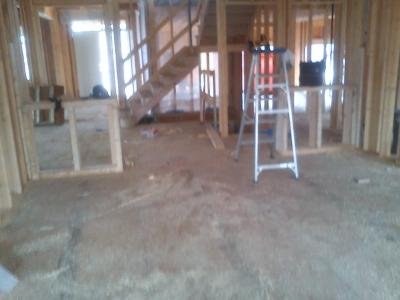 This is the inside of the unit taken that same day July 10, 2012