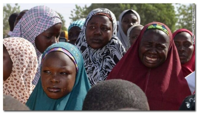 "The jihadis who kidnapped more than 200 Nigerian schoolgirls two weeks ago say they are ""willing to consider"" the release of those who have not already been trafficked abroad and sold into marriage. #BringourGirlsBack"