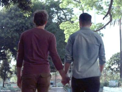 The video promoting LGBT acceptance is set to music by out singer Eli Lieb.
