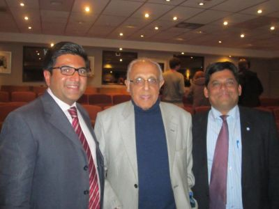 UNDP and JCI delegates pictured with Mr Ahmed Kathrada