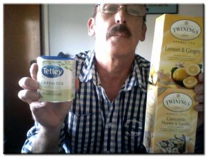 For almost 10 years Green Tea, Lemon & Ginger Tea and Camomille Tea have been a part of my daily diet.
