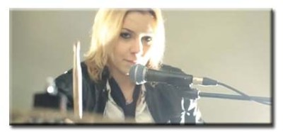 Drums & Back-up Vocals:  Danae Tsikouras