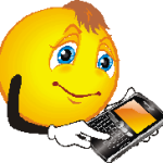 smiley-face-with-smart-phone-150x150