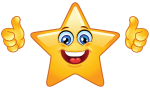 star-emoticon-holding-thumbs-up