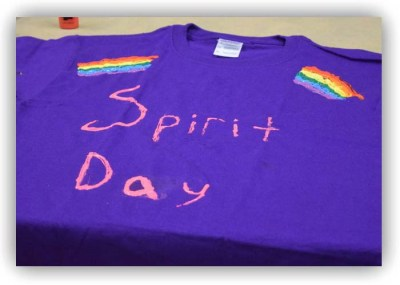 October 15 is Spirit Day where millions wear purple to stand against bullying and to show their support for LGBT youth. Photo: Kate Bunster