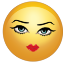 clipart-pretty-sexy-lady-smiley-emoticon-371b