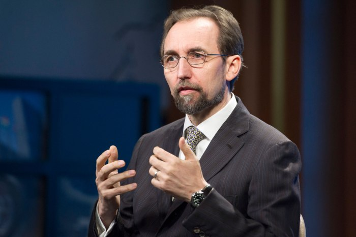 UN UN High Commissioner for Human Rights Interviewed by DPI