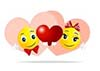 13395062-love-smileys-are-kept-in-the-hands-of-the-heart-as-a-token-of-love