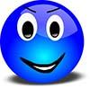 Blue-Smiley-Face