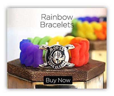 rainbow-bracelets