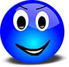 Blue-Smiley-Face