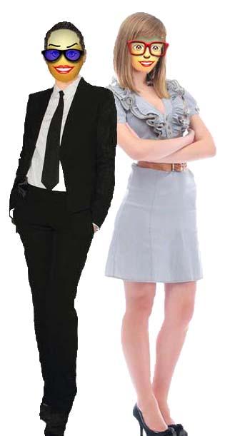 lellen & B womann