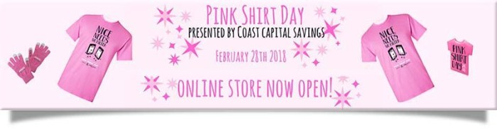 Pink Shirt Day 2018 header2